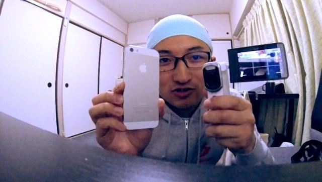 iPhone、GoPro、SONY、3つのカメラでスローモーション撮影の比較…機能を検証する動画ではありません。
