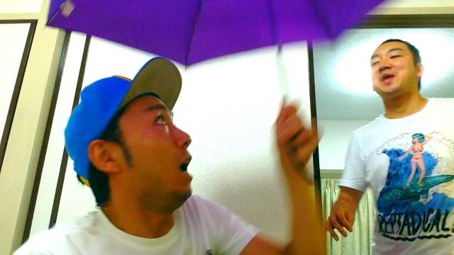 【梅雨明けに騙されないでっ】ミニ傘を持ち歩こう。165g 500円